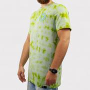 Camiseta Hocks Aviso Tie Dye - Verde