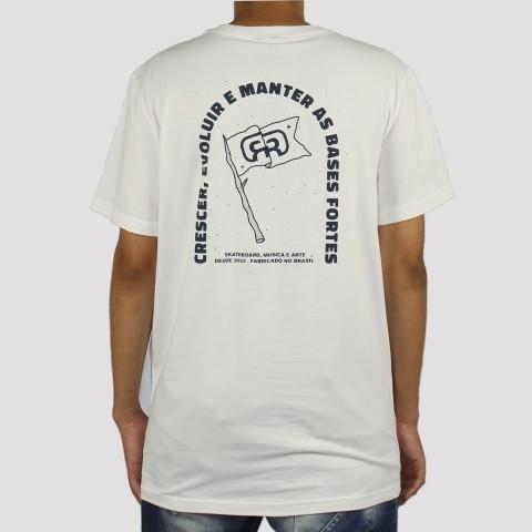 Camiseta Hocks Bandeira - Off white
