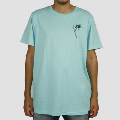 Camiseta Hocks Bandeira - Verde Água