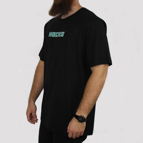 Camiseta Hocks Base (Tamanho Extra) - Preto