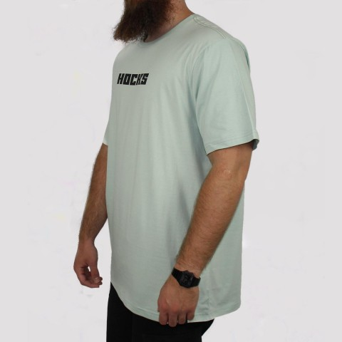 Camiseta Hocks Base (Tamanho Extra) - Verde Claro
