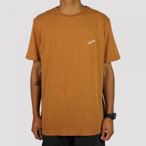 Camiseta Hocks Classic Glazed - Marrom