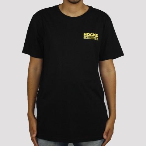 Camiseta Hocks Concreto - Preto