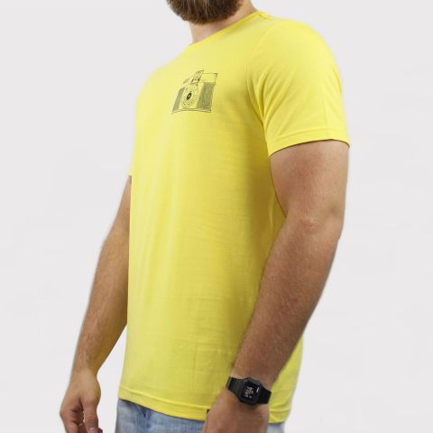 Camiseta Hocks Diana - Amarelo