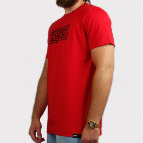 Camiseta Hocks Digital - Vermelho