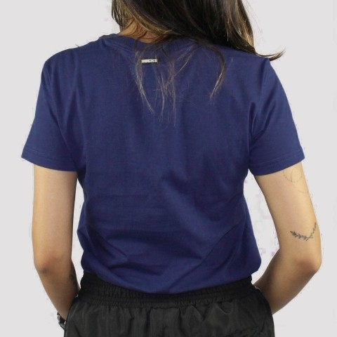 Camiseta Hocks  Feminina Croma - Azul Marinho