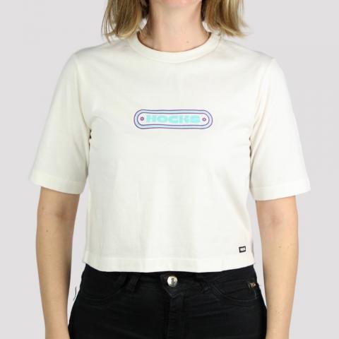 Camiseta Hocks Feminina Horizonte - Off White