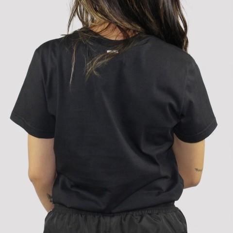 Camiseta Hocks Feminino Croma - Preto
