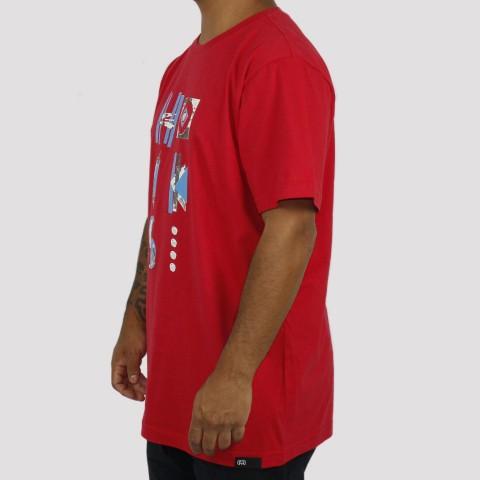 Camiseta Hocks Goma - Vermelha