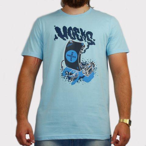 Camiseta Hocks Gxphone - Azul Claro
