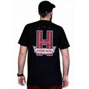 Camiseta Hocks H Preto