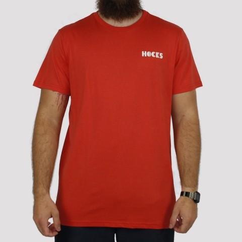 Camiseta Hocks Lenha - Laranja Escuro