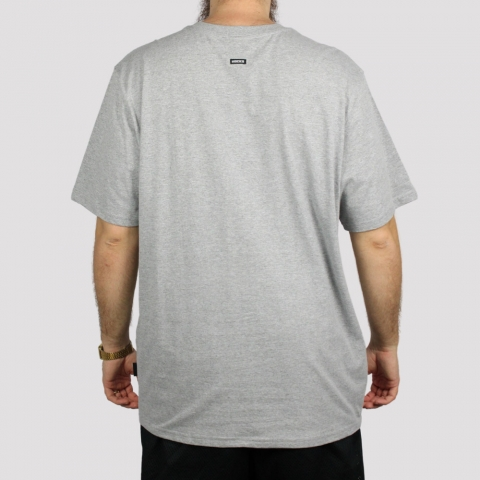 Camiseta Hocks Letter (Tamanho Extra) - Mescla