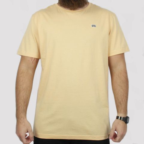 Camiseta Hocks Logo Bordado - Laranja