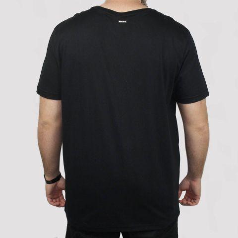 Camiseta Hocks Logo Bordado - Preta