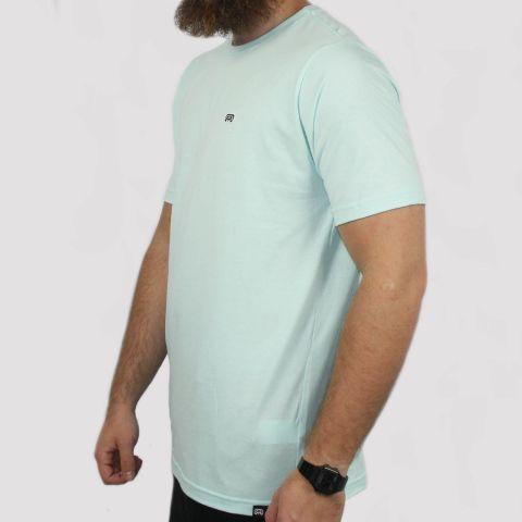 Camiseta Hocks Logo Bordado - Verde Água