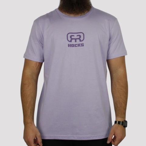 Camiseta Hocks Logo - Lilás