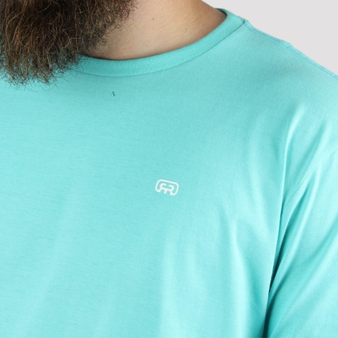 Camiseta Hocks Loguin - Verde Água