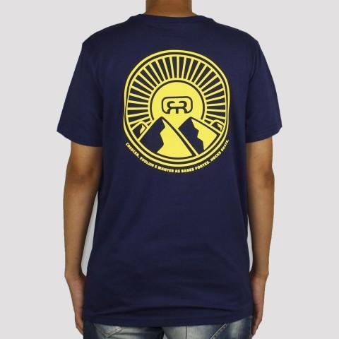 Camiseta Hocks Montanha - Azul Marinho