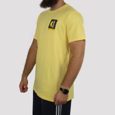 Camiseta Hocks Nouveau - Amarelo
