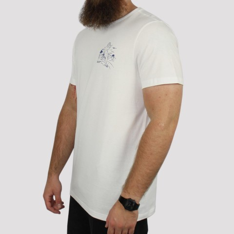 Camiseta Hocks PAT MC - Off White