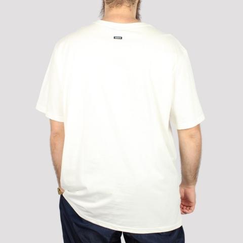 Camiseta Hocks Picote (Tamanho Extra) - Off White