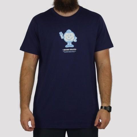 Camiseta Hocks Planeta - Azul Marinho