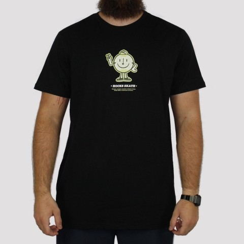 Camiseta Hocks Planeta - Preto