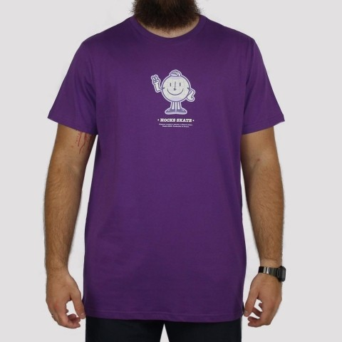 Camiseta Hocks Planeta - Roxa