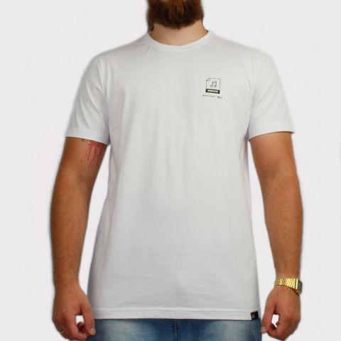 Camiseta  Hocks Playlist - Branca/Preto