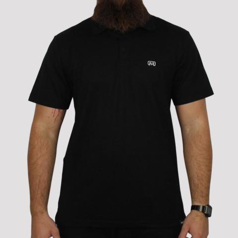 Camiseta Hocks Polo - Preta