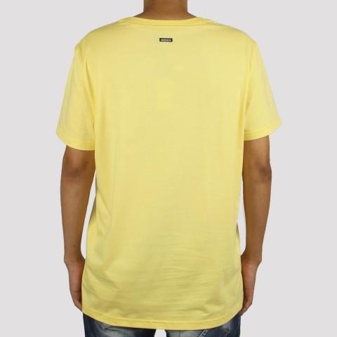Camiseta Hocks Postcard - Amarelo