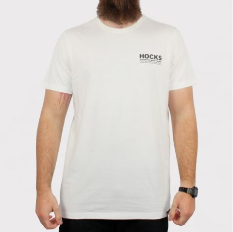 Camiseta Hocks Promo Concreto - Off White