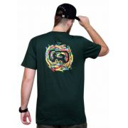 Camiseta Hocks Quadro Verde Escura