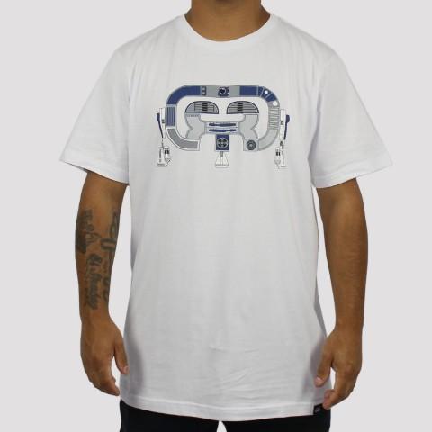 Camiseta Hocks R2-D Logo - Branca