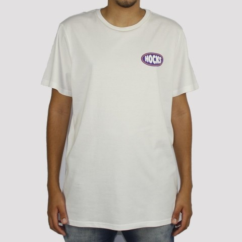 Camiseta Hocks Retrô - Off White