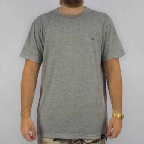 Camiseta Hocks Simbolo Cinza Mescla