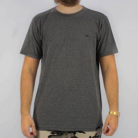 Camiseta Hocks Simbolo Cinza Mescla Escura