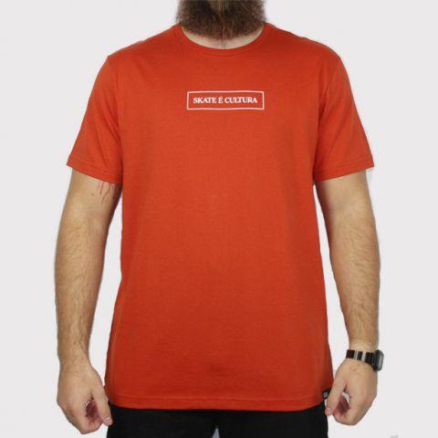 Camiseta Hocks Skate é Cultura - Telha