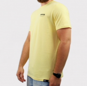 Camiseta Hocks Slogan - Amarelo