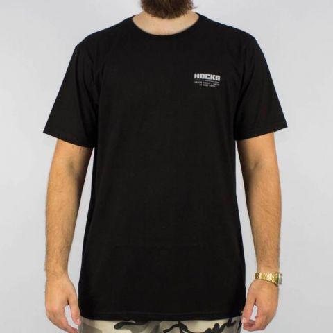 Camiseta Hocks Slogan Preta
