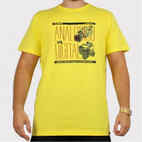 Camiseta Hocks Versus - Amarela
