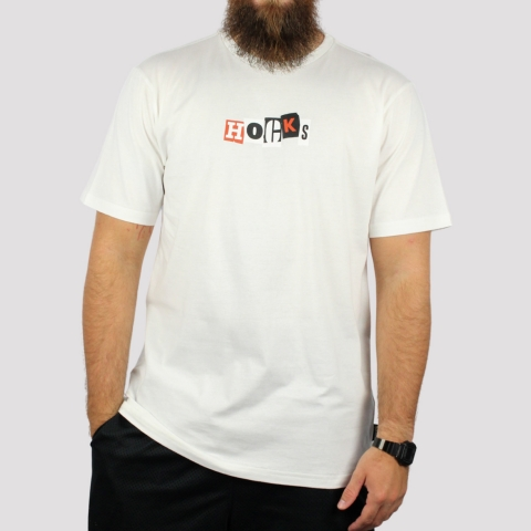 Camiseta Hocks Vista - Off White