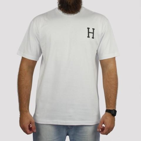 Camiseta Huf Essentials - Branco