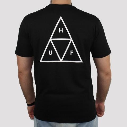 Camiseta Huf Essentials - Preto
