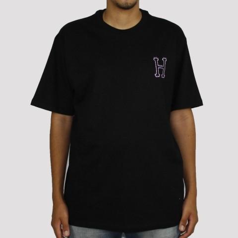 Camiseta Huf Head Classi - Preto