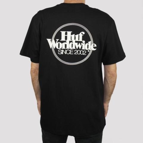Camiseta Huf Issues - Preto