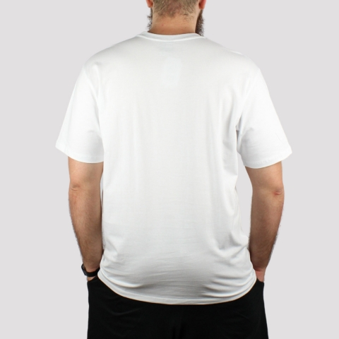 Camiseta HUF Logo - Branco