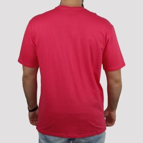 Camiseta Huf Logo - Pink