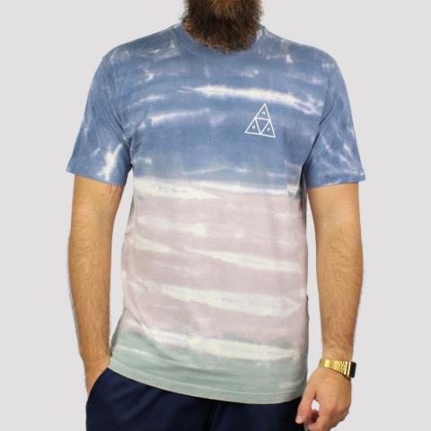 Camiseta HUF Sky Wash - Marinho